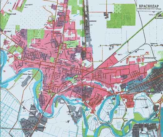 План   схема города